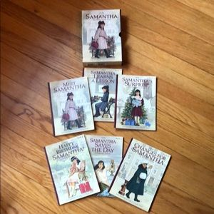 American Girl Samantha Books